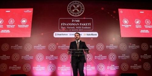 Bakan Albayrak İVME Finansman Paketi'ni açıkladı.